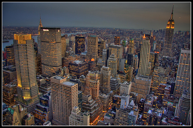 New York City by M.Bob